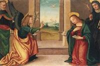 the annunciation by raffaelino del garbo