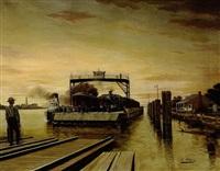 the avondale ferry by alexandre alaux