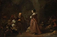 la tentation de saint antoine by matheus van helmont