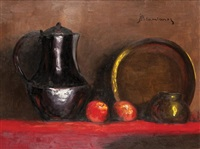 nature morte au cuivre by haralambos potamianos