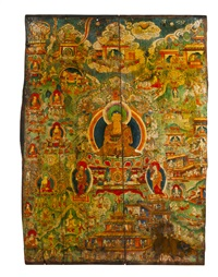untitled (from buddha shakyamuni avanda series) (recto-verso in 2 parts) by anonymous-tibetan (19)