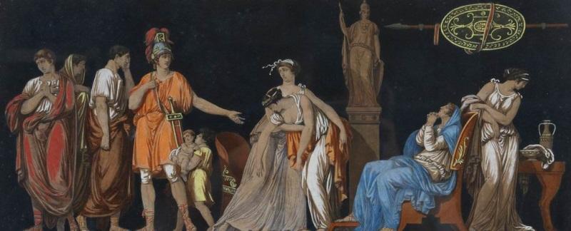 la conspiration de catilina la constance de coriolan la vertu de lucrèce 3 works by jean françois janinet