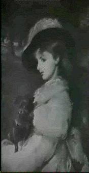 ung pige med skodehund by elizabeth arkwright