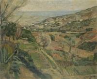 paysage de catalogne by mariano andreu
