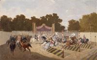 historisches karussell by alexander ritter von bensa