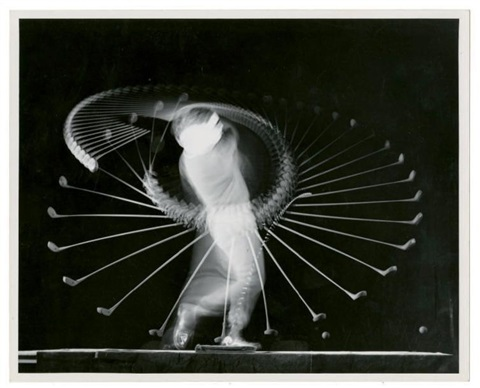 bobby jones makes shock stick to golf by harold eugene edgerton