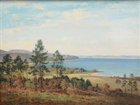 brodick bay from lamlash road, arran by george melvin rennie