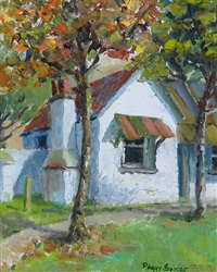 cobb cottage, fruitlands, otago by peggy spicer