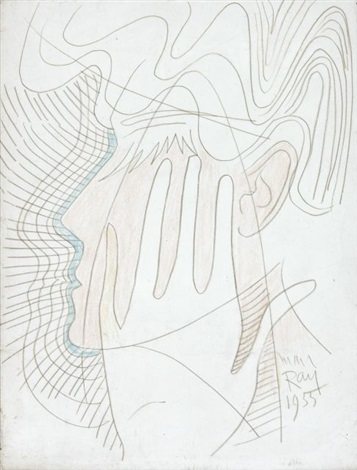 visage et main by man ray