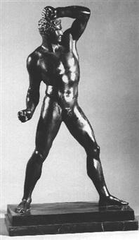 naked young athlete by oskar gladenbeck