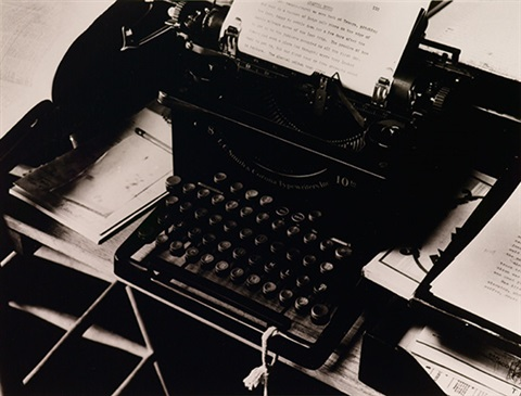 charis westons typewriter by beaumont newhall