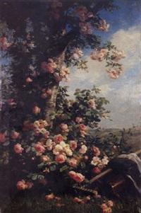 au jardin by louis marie lemaire