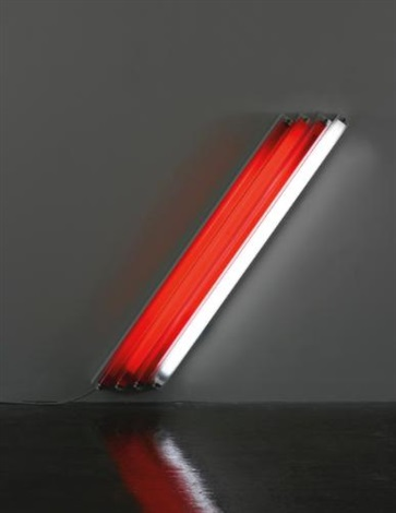 untitled (to the citizens of the swiss cantons) 1 by dan flavin