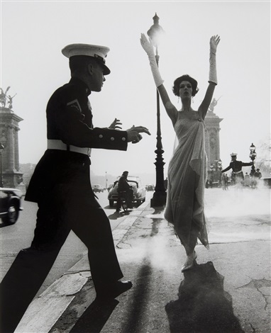 paris pont alexandre iii by william klein