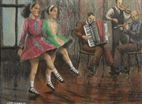 the irish dancers by james mcdonald