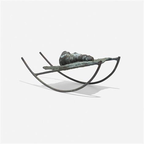 untitled welded form by harry bertoia