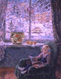 la journée d'hiver by kapitolina rumyantseva
