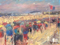 deauville - les planches by pierre gogois