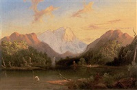 trouting among the mountains, nh by samuel b. foster