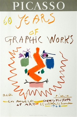 60 years of graphic works by pablo picasso
