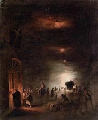 la grotta di posillipo by vincenzo abbati