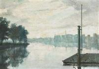 riverside scene by sidney smith