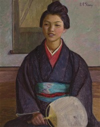 japanese girl by lilla cabot perry