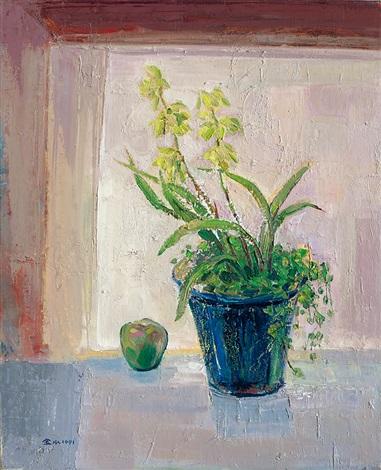 觀音素心蘭 cymbidium ensifolium by jan chinshui