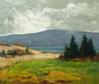 quebec landscape by paul barnard earle