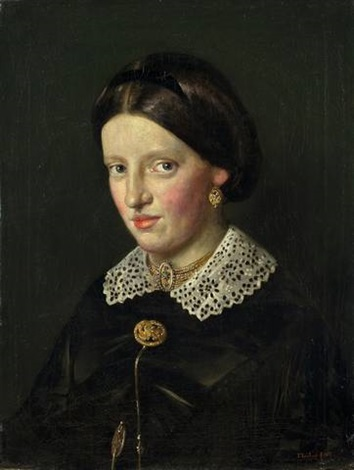 bildnis marie lenbach by franz seraph von lenbach