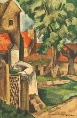 paysage cubiste by andré favory