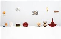 penelope (set of 12 subscription lamps) by jorge pardo