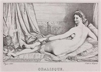 odalisque by jean-auguste-dominique ingres