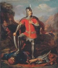 victory (warrior hunyadi) by nandor (krebs) rakosi