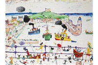 st. ives harbour by simeon stafford