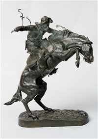 bronco buster by frederic remington