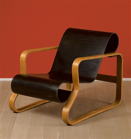sessel no 41 paimio by alvar aalto on artnet. Black Bedroom Furniture Sets. Home Design Ideas