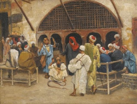 the snake charmers study by ludwig deutsch