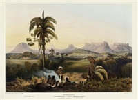 views in the interior of guiana (+ 11 works) by charles bentley and robert h. schomburgk