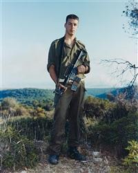 amit, golani brigade, elyacim, israel, may 26, 1999 by rineke dijkstra