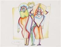drei figuren by johann georg müller