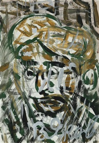 portrait of a medical worker with a hat by vladimir yakovlev