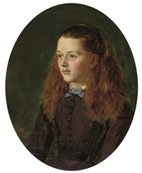 portrait of fanny frith by henry nelson o'neil