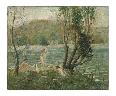bathers by ernest lawson