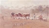 draught horses by robert hagan