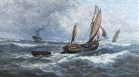 wind and rain off sheerness by thomas rose miles