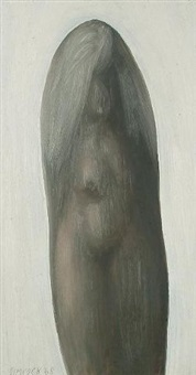 female nudes (pair) by jack simcock