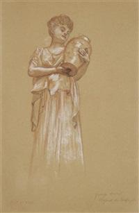 femme à la cruche by henri gervex