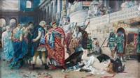 scène de martyre au circus maximus by teofilo augimeri