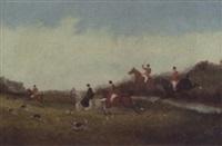 the fox hunt by thomas addison richards
